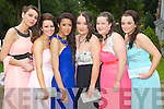 Inga Ofiara, Binah Linnane, Alicia Jay, Emma Carmody, Aisling White and Shannon Donnelly pictured at the Pres Tralee debs in Ballyroe Heights Hotel on Wednesday, August 8th..