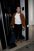 LONDON, ENGLAND - OCTOBER 08 :  Gorka Marquez leaves the production of 'Strictly Come Dancing : It Takes Two', at The Hospital Club Studios on October 08, 2018 in London, England.<br /> CAP/AH<br /> &copy;AH/Capital Pictures