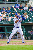 Iowa Cubs third baseman Jeimer Candelario (29) at the plate during a game against the Colorado Springs Sky Sox on September 4, 2016 at Principal Park in Des Moines, Iowa. Iowa defeated Colorado Springs 5-1. (Brad Krause/Four Seam Images)