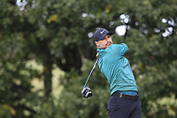 Trevor Immelman (RSA) on the 4th tee during Round 2 of the Sky Sports British Masters at Walton Heath Golf Club in Tadworth, Surrey, England on Friday 12th Oct 2018.<br /> Picture:  Thos Caffrey | Golffile<br /> <br /> All photo usage must carry mandatory copyright credit (&copy; Golffile | Thos Caffrey)