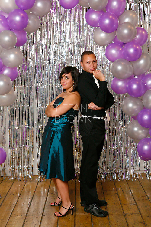 LAS VEGAS - SATURDAY, OCT. 2, 2010 - Promcoming party portraits at the Arts Factory in Las Vegas on Saturday, October 2, 2010. PHOTO BY TIFFANY BROWN