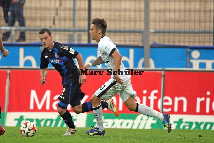 Vaclav Kadlec (Eintracht) gegen Hanno Balitsch (FSV) - FSV Frankfurt vs. Eintracht Frankfurt, Frankfurter Volksbank Stadion