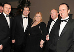 David Hanahoe, John Hennessy-Niland, American Embassy, Tracey McDonnell, Mark Holohan and Fran McFadden, Bord Gais, at the Irish Hotels Federation Conference Gala Dinner in The Malton Hotel, Killarney on Tuesday night. Picture: MacMonagle, Killarney