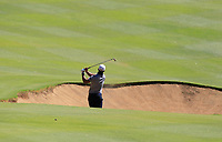 Dimitrios Papadatos (AUS) in action on the 2nd during Round 2 Matchplay of the ISPS Handa World Super 6 Perth at Lake Karrinyup Country Club on the Sunday 11th February 2018.<br /> Picture:  Thos Caffrey / www.golffile.ie<br /> <br /> All photo usage must carry mandatory copyright credit (&copy; Golffile   Thos Caffrey)