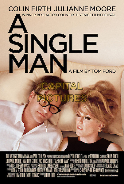 ONE SHEET POSTER ART.in A Single Man .*Filmstill - Editorial Use Only*.CAP/FB.Supplied by Capital Pictures.