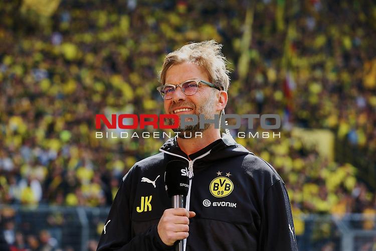 09.05.2015, Signal Iduna Park, Dortmund, GER, im Bild J&uuml;rgen Klopp (Trainer Borussia Dortmund)<br /> <br /> <br /> Foto &copy; nordphoto / Rauch