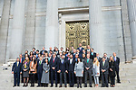 Official photo of Parliamentary Group of Vox in Spanish Parlament. November 18 2019. Alterphotos/Francis Gonzalez