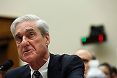 Former Trump-Russia special counsel Robert Mueller gives testimony before the United States House Permanent Select Committee on Intelligence on the results of his investigation on Capitol Hill in Washington, DC on Wednesday, July 24, 2019.<br /> Credit: Stefani Reynolds / CNP<br /> (RESTRICTION: NO New York or New Jersey Newspapers or newspapers within a 75 mile radius of New York City)