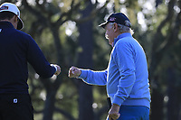 Dermot Desmond (A) during the first round of the AT&amp;T Pro-Am, Pebble Beach Golf Links, Monterey, California, USA. 07/02/2019<br /> Picture: Golffile | Phil Inglis<br /> <br /> <br /> All photo usage must carry mandatory copyright credit (&copy; Golffile | Phil Inglis)