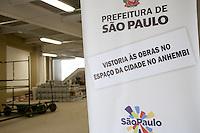 ATENCAO EDITOR: FOTO EMBARGADA PARA VEICULOS INTERNACIONAIS<br /> SAO PAULO, SP, 21 SETEMBRO 2012 - O Prefeito Gilberto Kassab e o Presidente da SPTuris, Marcelo Rehder durante Vistoria as obras do Espaço da Cidade no Anhembi - Sambodromo do Anhembi - Santana - Zona Norte<br /> FOTO: POLINE LYS - BRAZIL PHOTO PRESS