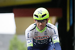 Guillaume Martin (FRA) Wanty-Gobert Cycling Team at sign on for a wet Stage 2 of the Criterium du Dauphine 2019, running 180km from Mauriac to Craponne-sur-Arzon, France. 9th June 2019<br /> Picture: Colin Flockton | Cyclefile<br /> All photos usage must carry mandatory copyright credit (© Cyclefile | Colin Flockton)