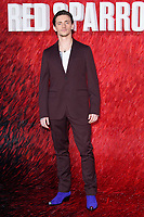 Sergei Polunin at the &quot;Red Sparrow&quot; premiere at the Vue West End, Leicester Square, London, UK. <br /> 19 February  2018<br /> Picture: Steve Vas/Featureflash/SilverHub 0208 004 5359 sales@silverhubmedia.com