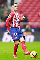 Atletico de Madrid's Lucas Hernandez during La Liga match. January 6,2018. (ALTERPHOTOS/Acero) /NortePhoto.com NORTEPHOTOMEXICO