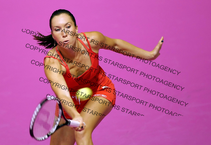 Tenis, Fed Cup, play off world group B.Croatia Vs. Serbia.Jelena Jankovic Vs. Nika Ozegovic.Jelena Jankovic.Zagreb, 26.04.2008..Srdjan Stevanovic ©