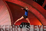 Boston New England Rose Lissa Brambley performs a gymnastics routine during the Tuesday night Rose Selection at the Dome.