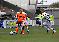 Stuart Arsmtrong shields the ball in the St Mirren v Dundee United Clydesdale Bank Scottish Premier League match played at St Mirren Park, Paisley on 27.10.12.