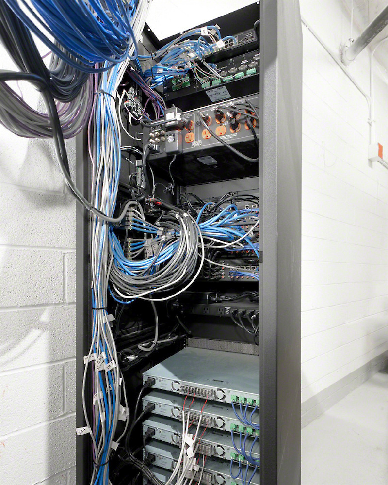 Controlled Rack Wiring