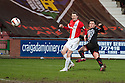 Pars' Lawrence Shankland scores their third goal.
