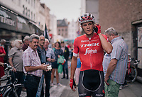 Jasper Stuyven (BEL/Trek-Segafredo) pre-race as he is about to race in his hometown of Leuven (BEL)<br /> <br /> 52nd GP Jef Scherens - Rondom Leuven 2018 (1.HC)<br /> 1 Day Race: Leuven to Leuven (186km/BEL)