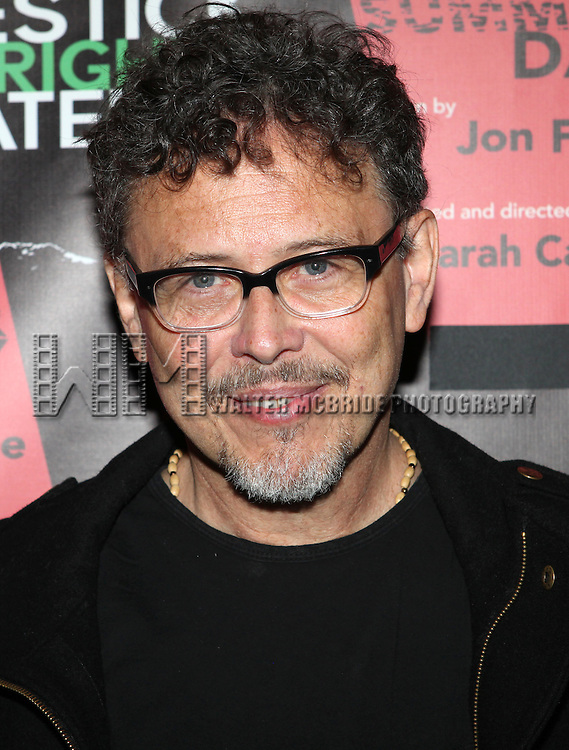 Jose Rivera attending the Opening Night Performance of The Rattlestick Playwrights Theater Production of 'A Summer Day' at the Cherry Lane Theatre on 10/25/2012 in New York.