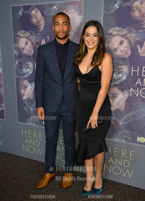 Stephanie Arcila &amp; Kendrick Sampson at the premiere for HBO's &quot;Here and Now&quot; at The Directors Guild of America, Los Angeles, USA 05 Feb. 2018<br /> Picture: Paul Smith/Featureflash/SilverHub 0208 004 5359 sales@silverhubmedia.com