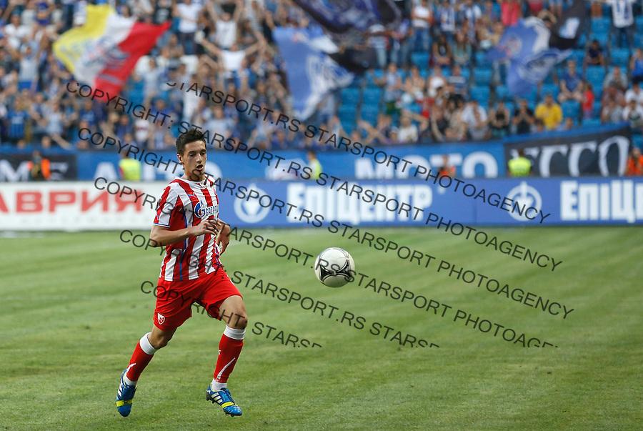 Fudbal UEFA Europa League season 2013-2014<br /> Cernomorec Vs. Crvena Zvezda<br /> Vukan Savicevic<br /> Odessa, 02.08.2013.<br /> foto: Srdjan Stevanovic/Starsportphoto &copy;