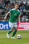 13.04.2019, Weserstadion, Bremen, GER, 1.FBL, Werder Bremen vs SC Freiburg<br /> <br /> DFL REGULATIONS PROHIBIT ANY USE OF PHOTOGRAPHS AS IMAGE SEQUENCES AND/OR QUASI-VIDEO.<br /> <br /> im Bild / picture shows<br /> Niklas Moisander (Werder Bremen #18), <br /> <br /> Foto &copy; nordphoto / Ewert