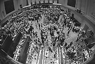 Wall Street reacts to Nixon resignation - Press coverage of President Nixon resigning the presidency on August 9, 1973 - A break in at the Democratic National Committee headquarters at the Watergate complex on June 17, 1972 results in one of the biggest political scandals the US government has ever seen.  Effects of the scandal ultimately led to the resignation of  President Richard Nixon, on August 9, 1974, the first and only resignation of any U.S. President.