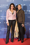 Elsa Anka and Concha Galan attend `La verdad duele´ (Concussion) film premiere at Callao cinema in Madrid, Spain. January 27, 2015. (ALTERPHOTOS/Victor Blanco)