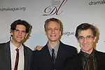 Alex Timbers, Rick Elice, Roger Rees - The 78th Annual Drama League Awards on May 18, 2012 at The New York Marriott Marquis, New York City, New York.(Photo by Sue Coflin/Max Photos)