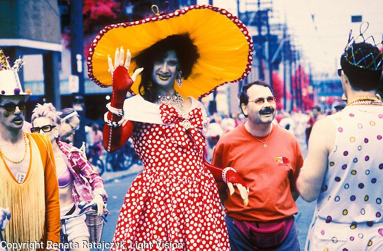Guy parade, Toronto, Canada