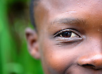 A boy in Mizak, a small village in the south of Haiti.
