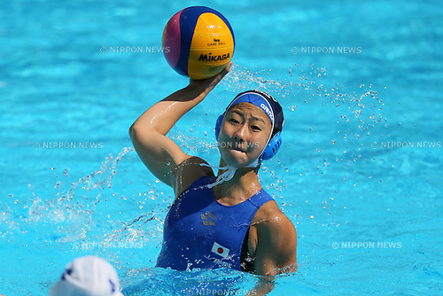 Kotori Sazuki (JPN), <br /> JULY 28, 2015 - Water Polo :<br /> 16th FINA World Championships Kazan 2015<br /> Men's Preliminary Round<br /> match between Brazil 11-8 Japan<br /> at Water Polo Arena in Kazan, Russia.<br /> (Photo by Yohei Osada/AFLO SPORT)