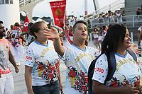 SÃO PAULO,SP,12.01.2019 - CARNAVAL-SP - Ensaio Técnico Geral da escola de samba Leandro de Itaquera no sambódromo do Anhembi localizado na zona norte de São Paulo na noite deste sábado, 12. (Foto:Nelson Gariba/Brazil Photo Press)