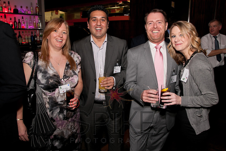 Pictured from left are Deborah Manzoori of Insolvency Consultancy, Taz Rashid of Kingsland Business Recovery, John Miles of Colligent and Hayley Meyrick of Kingsland Business Recovery,