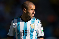 Sao Paolo, Brazil - Tuesday, July 1, 2014:   Argentina defeated Switzerland 1-0 in over time to advance out of round of 16 play at Arena Corinthians.