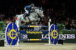 Maikel van der Vleuten of Netherlands riding VDL Groep Eureka in action during the Laiterie De Montaigu Trophy as part of the Longines Hong Kong Masters on 14 February 2015, at the Asia World Expo, outskirts Hong Kong, China. Photo by Victor Fraile / Power Sport Images