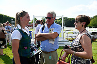 Connections of Nyaleti in the winners enclosure during Father's Day Racing at Salisbury Racecourse on 18th June 2017