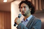 6.10.2013, Berlin, Amano Rooftop Conference Center. High-Tech Forum Berlin. Itai Ben Jacob