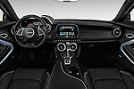 Stock photo of straight dashboard view of 2016 Chevrolet CAMARO 2LT 2 Door coupe Dashboard