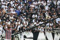 SAO PAULO, SP, 21.09.2014 - CAMP. BRASILEIRO - CORINTHIANS - SÃO PAULO - Edson Silva do Sao Paulo comemora seu gol durante partida contra o Corinthians jogo valido pela 23 rodada do Campeonato Brasileiro na Arena Corinthians em Itaquera regiao leste de Sao Paulo neste domingo, 21. (Foto: William Volcov / Brazil Photo Press).