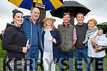 Enjoying the races in Cahersiveen and looking for a winner were l-r; Emma Mulvany, Paddy Golden, Elaine Golden, Eoin O'Neill, Michael Golden & Mary Garvey.