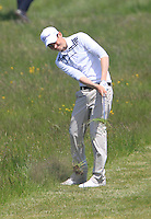 Jack Walsh (Castle) during the 4th round of the East of Ireland Amateur Open Championship 2013 Co Louth Golf club 3/6/13<br /> Picture:  Thos Caffrey / www.golffile.ie