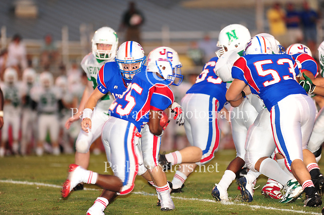John Curtis defeated Newman 34-7 at Muss Bertolino Stadium on Sept. 24, 2009.