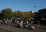 Competitors start the stroller portion of the 49th Annual Journal Jog in Reno, Nevada on Sunday, September 10, 2017.
