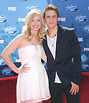 Kris Allen and wife at Fox's  2011 American Idol Finale held at The Nokia Live in Los Angeles, California on May 25,2011                                                                               © 2011 Hollywood Press Agency