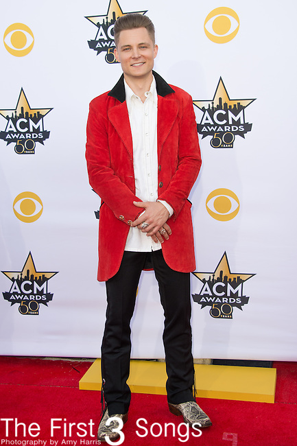 Frankie Ballard attends the 50th Academy Of Country Music Awards at AT&T Stadium on April 19, 2015 in Arlington, Texas.