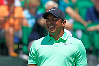 Jhonattan Vegas (VEN) on the 1st tee to start his match during Thursday's Round 1 of the 117th U.S. Open Championship 2017 held at Erin Hills, Erin, Wisconsin, USA. 15th June 2017.<br /> Picture: Eoin Clarke | Golffile<br /> <br /> <br /> All photos usage must carry mandatory copyright credit (&copy; Golffile | Eoin Clarke)