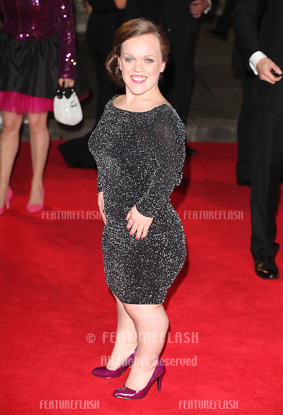 Ellie Simmonds arriving for the Royal World Premiere of 'Skyfall' at Royal Albert Hall, London. 23/10/2012 Picture by: Alexandra Glen / Featureflash