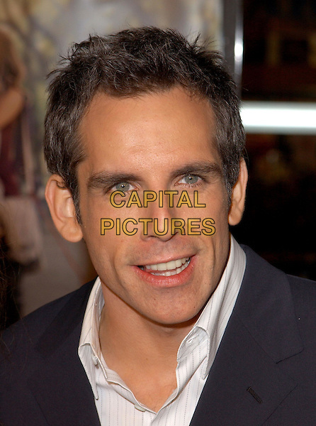 BEN STILLER .Universal Pictures World Premiere of Along Came Polly held at the Grauman's Chinese Theater .*UK Sales Only*.12 January 2004.headshot, portrait.www.capitalpictures.com.sales@capitalpictures.com.©Capital Pictures.